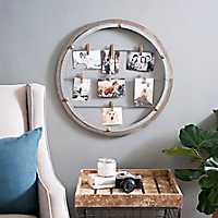 Open Circle Clip Collage Frame