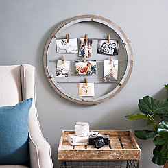 Open Circle Clip Collage Frame