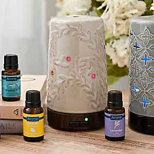 Flourish Ultrasonic 100 mL Essential Oil Diffuser