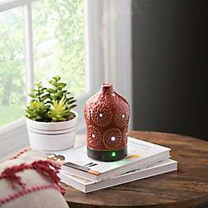 Red Lotus 100 mL Ultrasonic Essential Oil Diffuser