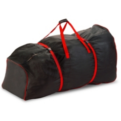 Rolling Black 9 ft. Christmas Tree Storage Bag