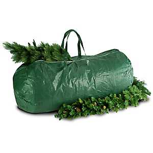 Heavy Duty 9 ft. Green Storage Tree Bag