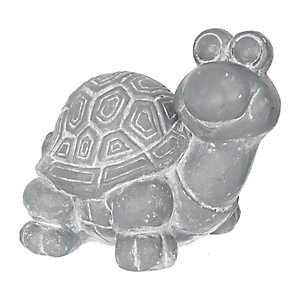 Gray Concrete Turtle Statue