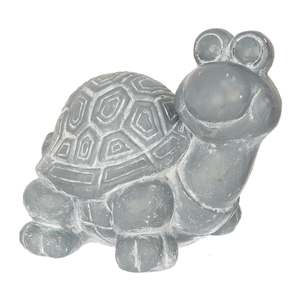 Attractive Gray Concrete Turtle Statue