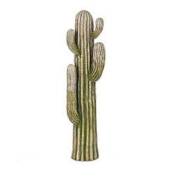 Green Concrete Cactus Statue