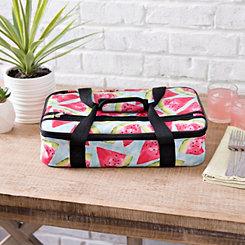 Tropical Watermelon Casserole Tote