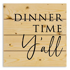Dinner Time Y'all Wood Pallet Plaque