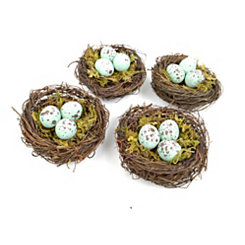 Robin's Egg Nests, Set of 4