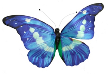 Blue Paper Butterfly