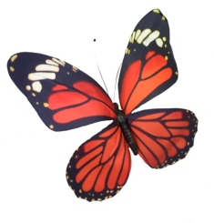 Monarch Paper Butterfly
