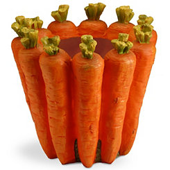Carrot Flower Pot, 8 in.