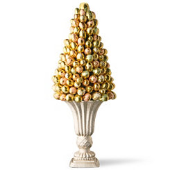 Gold Foil Egg Tree, 17 in.
