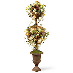 Stacked Ball Easter Egg Topiary
