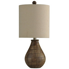 Rustic Drop Table Lamp