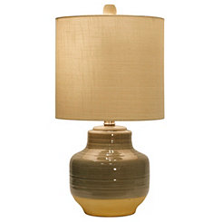 Prova Gray Ceramic Table Lamp