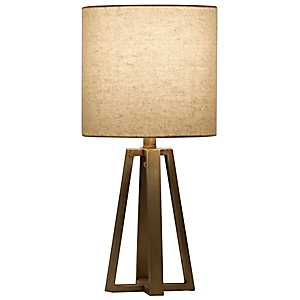 Champagne Metal Table Lamp