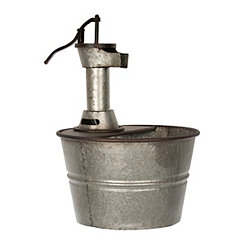 Iron Bucket Fountain