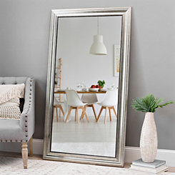 Champagne Pewter Edge Framed Mirror, 38x68 in.
