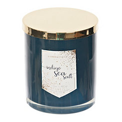 Indigo Sea Salt Jar Candle