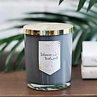 Tobacco and Teakwood Jar Candle