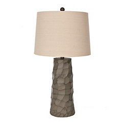Thunder Gray Table Lamp