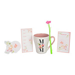 Floral Mom Stationery and Mug Set
