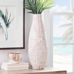 Desert Lines Ceramic Vase