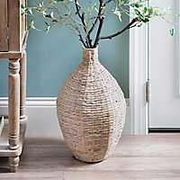 Natural Hyacinth Vase, 20 in.