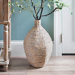 Natural Hyacinth Vase, 20 in.