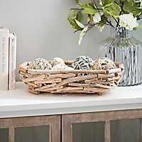 Natural Pieced Wood Bowl