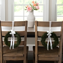 Preserved Cypress Wreaths, Set of 2