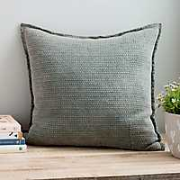 Sand Washed Green Pillow