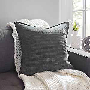 Sand Washed Gray Pillow