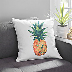 Watercolor Pineapple Pillow