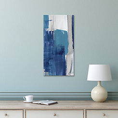 Blue Perspectives Canvas I Art Print