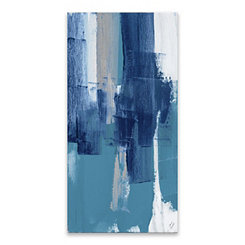 Blue Perspectives Canvas II Art Print