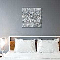 Mezzo Gray I Canvas Art Print