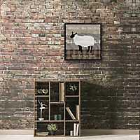 Buttermilk Farm Recessed Box Framed Art Print