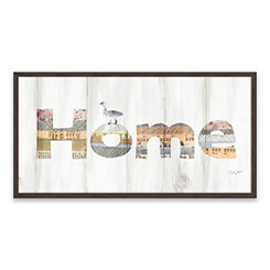 Farm Family Recessed Box Framed Art Print