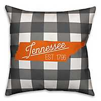 Tennessee Buffalo Check Pillow