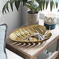 Iron Palm Leaf Tray