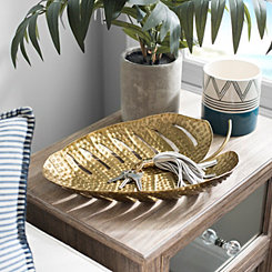 Iron Palm Leaf Tray