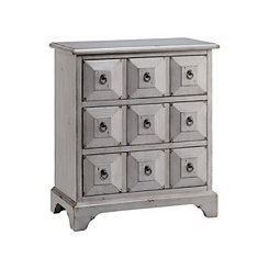 Aegean Mist 3-Drawer Apothecary Chest