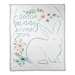 Some Bunny Loves You Throw