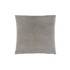Gray Mosaic Velvet Pillow