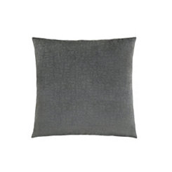 Dark Gray Mosaic Velvet Pillow
