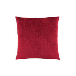 Red Mosaic Velvet Pillow