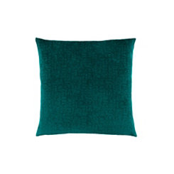 Emerald Green Mosaic Velvet Pillow