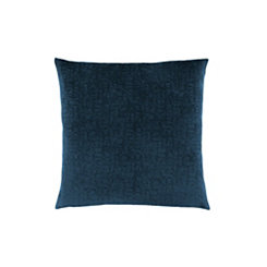 Blue Mosaic Velvet Pillow