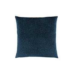 Blue Mosaic Velvet Pillow